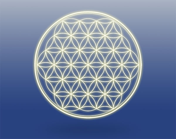 Flower of Life Symbol - Pat Robertson Rice - Spiritual Counselor - Healing
